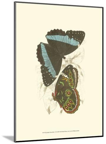 Butterflies VI-Sir William Jardine-Mounted Art Print