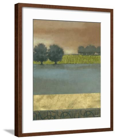 Textured Dusk I--Framed Art Print
