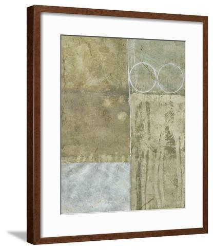 Silver Gilded Abstract II--Framed Art Print