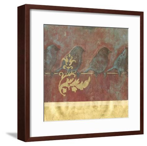 Bird on a Wire II--Framed Art Print