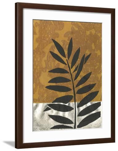 Sunset Palm II--Framed Art Print