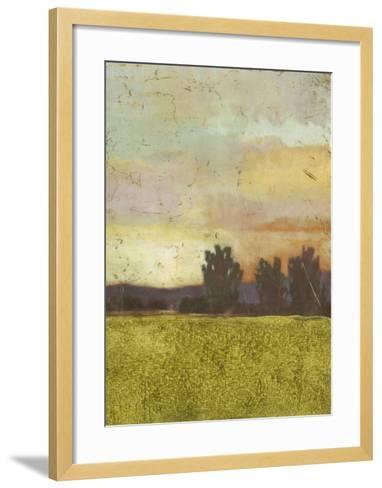 Vibrant Sunset I--Framed Art Print