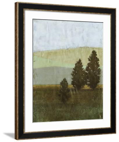 Textured Evergreen II--Framed Art Print