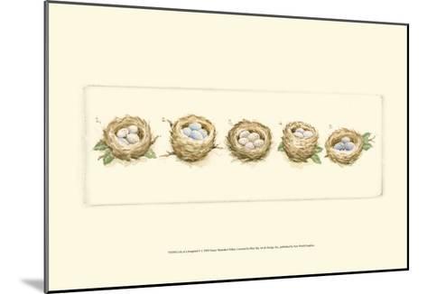 Life of a Songbird V-Nancy Shumaker Pallan-Mounted Art Print