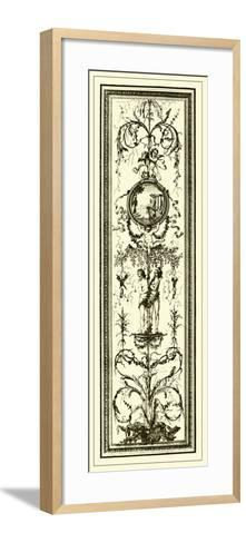 Ivory Screen I--Framed Art Print