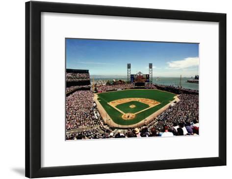 AT&T Park, San Francisco-Ira Rosen-Framed Art Print