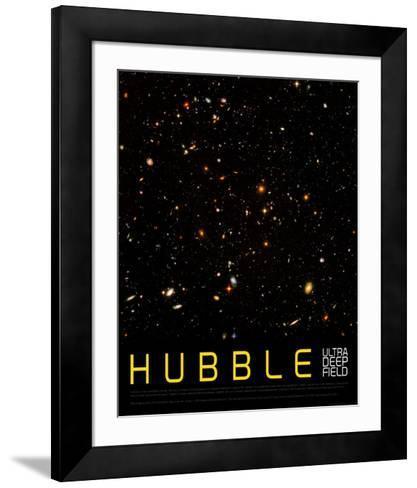 Hubble Ultra Deep Field--Framed Art Print