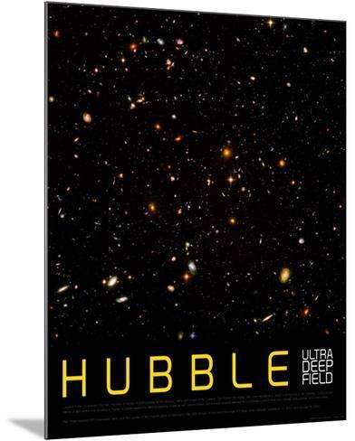 Hubble Ultra Deep Field--Mounted Art Print