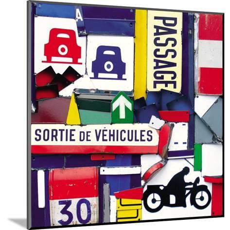 Sortie de Vehicules-Fernando Costa-Mounted Art Print