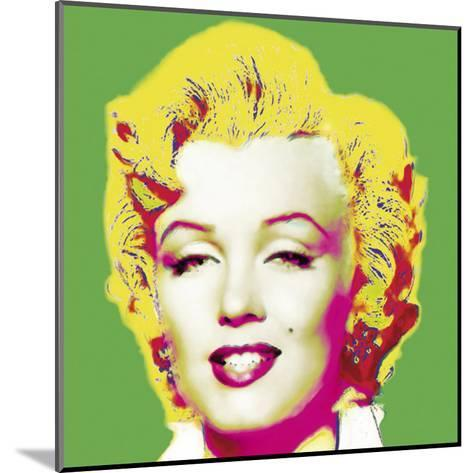 Marilyn in Green-Wyndham Boulter-Mounted Art Print