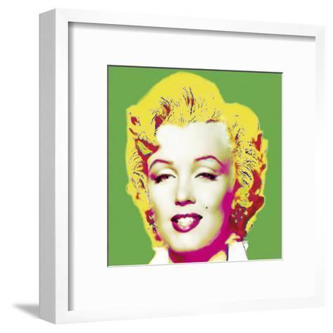 Marilyn in Green-Wyndham Boulter-Framed Art Print