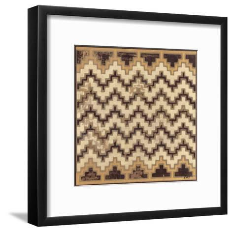 Antique Mudcloth III-Norman Wyatt Jr^-Framed Art Print