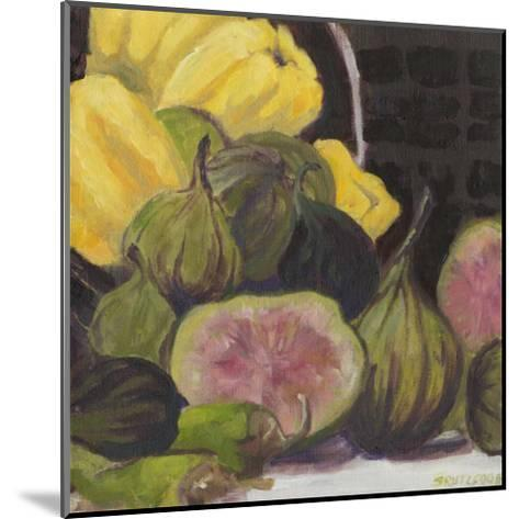 Figs I-Silvia Rutledge-Mounted Art Print