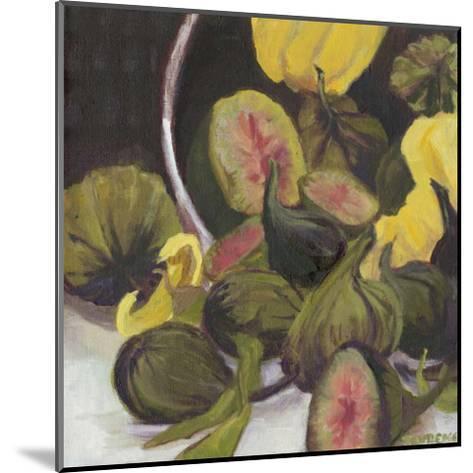 Figs II-Silvia Rutledge-Mounted Art Print
