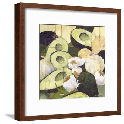 Avocados II-Silvia Rutledge-Framed Art Print