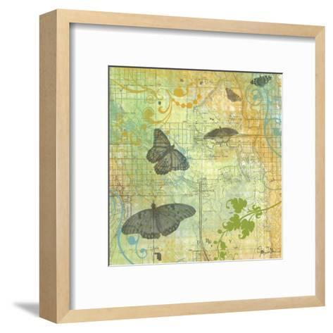 Butterflies I-Jan Weiss-Framed Art Print