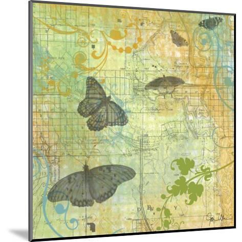 Butterflies I-Jan Weiss-Mounted Art Print