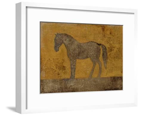 Oxydized Horse II-Norman Wyatt Jr^-Framed Art Print