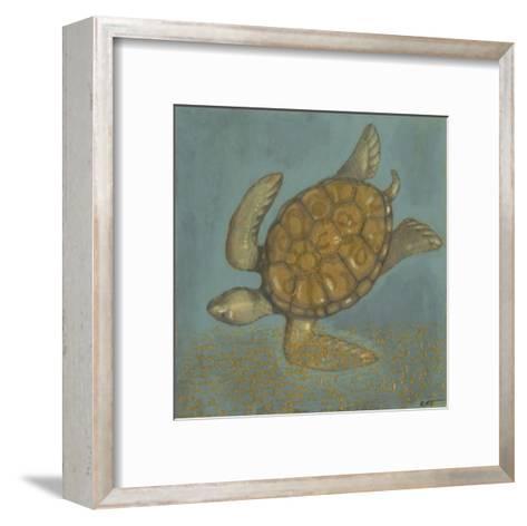 Sea Turtle II-Norman Wyatt Jr^-Framed Art Print