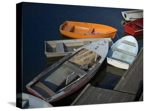 Row Boats II-Rachel Perry-Stretched Canvas Print