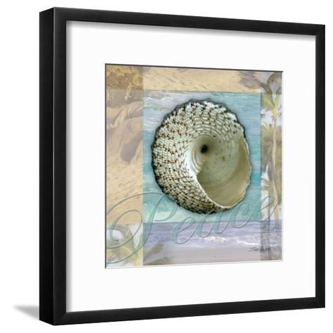 Peace Shell-Todd Williams-Framed Art Print