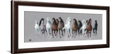 Au Galop I-Bernard Ott-Framed Art Print