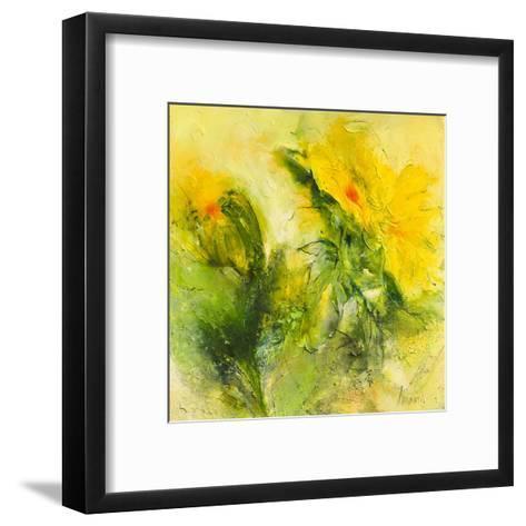 Lowenzahn II-Waltraud Nawratil-Framed Art Print