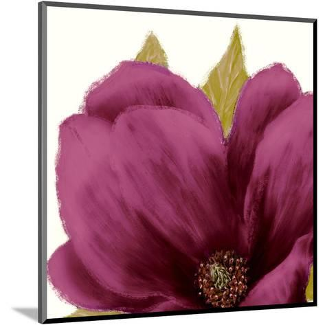 Grandiflora Blush II-Linda Wood-Mounted Art Print