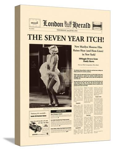 The Seven Year Itch-The Vintage Collection-Stretched Canvas Print
