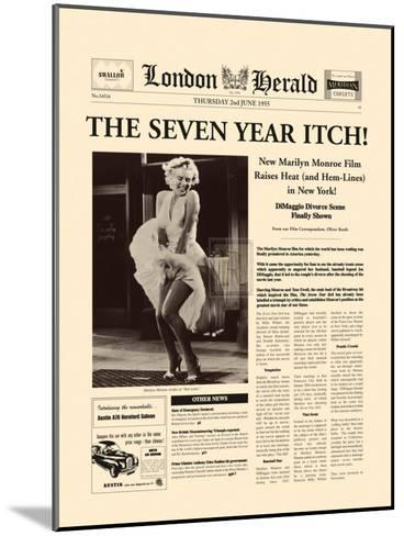 The Seven Year Itch-The Vintage Collection-Mounted Art Print