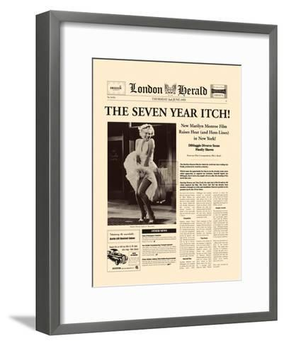 The Seven Year Itch-The Vintage Collection-Framed Art Print
