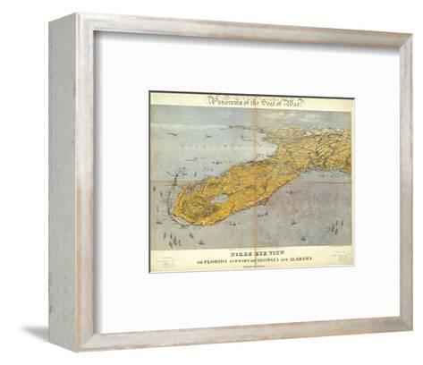 Florida and Part of Georgia and Alabama, c.1861-John Bachmann-Framed Art Print