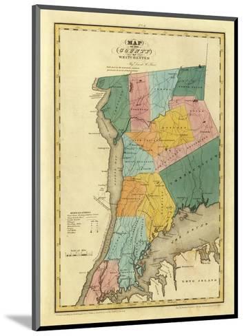 New York, Westchester County, c.1829-David H^ Burr-Mounted Art Print