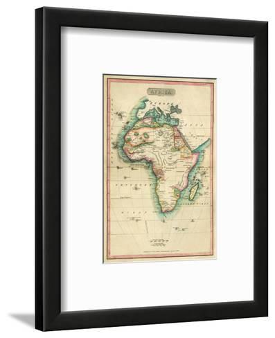 Africa, c.1820-John Melish-Framed Art Print