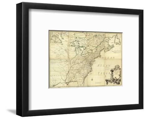 Amerique Septentrionale, c.1756-John Mitchell-Framed Art Print
