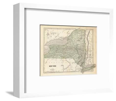 New York, c.1845-Sidney E^ Morse-Framed Art Print
