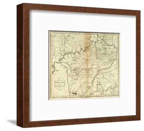 State of Kentucky, c.1796-John Reid-Framed Art Print