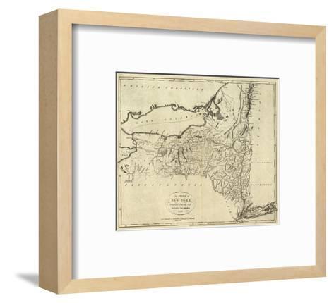 State of New York, c.1796-John Reid-Framed Art Print