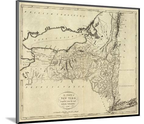 State of New York, c.1796-John Reid-Mounted Art Print