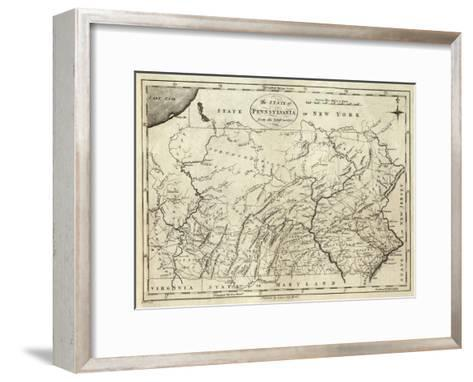 State of Pennsylvania, c.1796-John Reid-Framed Art Print