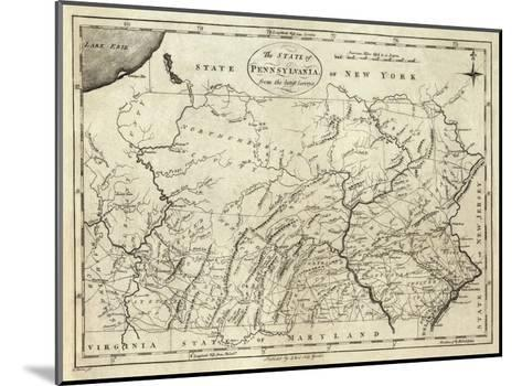 State of Pennsylvania, c.1796-John Reid-Mounted Art Print
