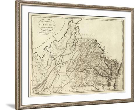 State of Virginia, c.1796-John Reid-Framed Art Print