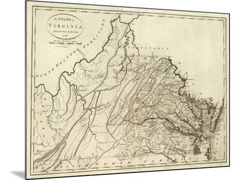 State of Virginia, c.1796-John Reid-Mounted Art Print