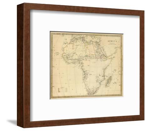Africa, c.1839--Framed Art Print
