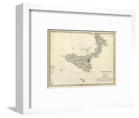 Ancient Italy III, c.1830--Framed Art Print