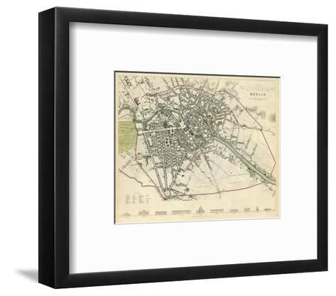 Berlin, Germany, c.1833--Framed Art Print