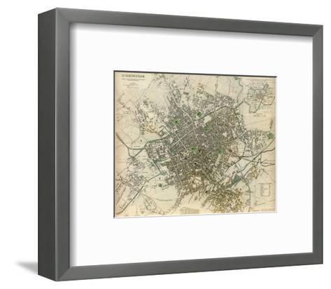 Birmingham, England, c.1839--Framed Art Print