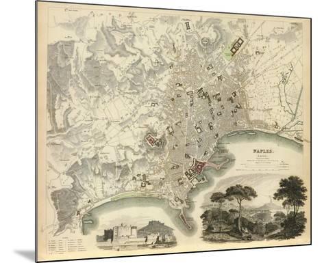 Naples, Italy, c.1835--Mounted Art Print
