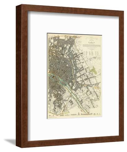 Paris, France, c.1834--Framed Art Print