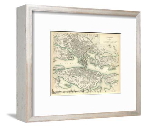 Stockholm, Sweden, c.1838--Framed Art Print